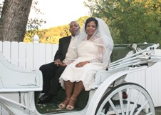 Carriage rides for your Gatlinburg wedding.