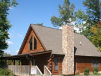 One bedroom cabin rentals in Pigeon Forge and Gatlinburg Tennessee.