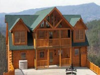 Five to Eight bedroom cabin rentals in Pigeon Forge and Gatlinburg Tennessee.