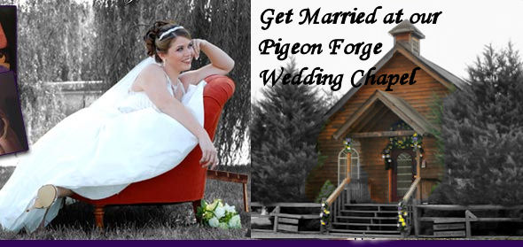 pigeon forge wedding chapel in the smoky mountains